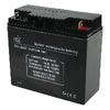 Zselés akkumulátor 12 V 17000 mAh 167 mm x 181 mm x 77 mm