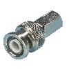 CCTV biztonsági Videó Balun BNC 6.8 mm Dugasz Bronz