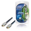 High Speed HDMI kabel met Ethernet Plat HDMI-Connector - HDMI-Connector 5.00 m Blauw