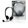 Headset Fülre Illeszkedő 2x 3.5 mm Beépített Mikrofon 2.0 m Fekete