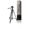 Premium Fényképezőgép / Videokamera Háromlábú Pásztázás és Döntés 148 cm Fekete
