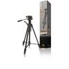 Premium Fényképezőgép / Videokamera Háromlábú Pásztázás és Döntés 160 cm Fekete