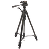 Premium Fényképezőgép / Videokamera Háromlábú Pásztázás és Döntés 165 cm Fekete