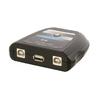 2-Port USB Kapcsoló Fekete