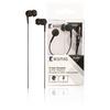 Headset Fülbe Dugható 3.5 mm Beépített mikrofon 1.2 m Fekete