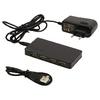 7-Port Elosztó USB 2.0 Hajtású Fekete