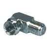 Koaxiális Adapter F F Dugasz - F Aljzat Bronz