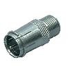 Koaxiális Adapter F F Gyorscsatlakozó Dugasz - F Aljzat Ezüst