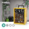 Ipari Fűtőventilátor   Hőfokszabályozó   3 Fokozat   2000 W   Sárga