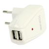 Hálózati Töltő 2-Kimenet 1.0 A 1.0 A USB Fehér