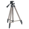 Fényképezőgép / Videokamera Háromlábú Pásztázás és Döntés 130 cm Fekete/Ezüst