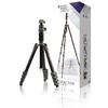Professional Fényképezőgép / Videokamera Háromlábú Gömbcsukló 137 cm Fekete