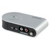 Konverter RCA Aljzat / 3.5 mm - 3.5 mm / USB 2.0 Ezüst