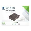HDMI Átalakító HDMI Bemenet - VGA Alj + 2x RCA Alj