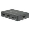 2-Port HDMI Kapcsoló Sötétszürke
