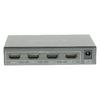 4-Port HDMI Kapcsoló Sötétszürke