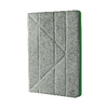 "Universal tablet case pu leather for tablet 9-10"" grey/green"