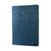 "Universal tablet case pu leather for tablet 11-12"" blue/white"