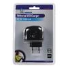 Hálózati Töltő 1-Kimenet 1.0 A 1.0 A USB Fekete