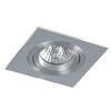Halogén Beépíthető 35 W Négyszögletes Alumínium
