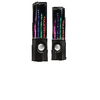 Hangszóró USB 3.5 mm 6 W Fekete/Átlátszó