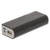Hordozható Külső Akkumlátor Lithium-Ion 4000 mAh USB Fekete