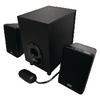 Hangszóró 2.1 Vezetékes 3.5 mm 11 W Fekete