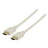 Nagy Sebességű Hdmi Kábel Ethernettel HDMI Csatlakozó - HDMI Csatlakozó 7.50 m Fehér