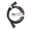 Nagy Sebességű Hdmi Kábel Ethernettel HDMI Csatlakozó - HDMI Csatlakozó 1.50 m Fekete