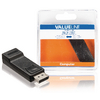 DisplayPort-Adapter DisplayPort Dugó - HDMI Aljzat Fekete