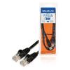 CAT5e UTP Hálózati Kábel RJ45 (8P8C) Dugasz - RJ45 (8P8C) Dugasz 1.00 m Fekete