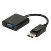 DisplayPort Kábel DisplayPort Dugó - VGA Aljzat 0.20 m Fekete