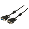 VGA Hosszabbító Kábel VGA Dugó - VGA Aljzat 2.00 m Fekete