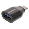 USB 3.0 Adapter USB-C Dugó - USB A Aljzat Fekete