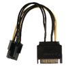 Belső Tápkábel SATA 15 Pólusú Dugasz - PCI Express Alj 0.15 m
