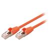 CAT5e SF / UTP Hálózati Kábel RJ45 (8P8C) Dugasz - RJ45 (8P8C) Dugasz 0.50 m Narancs