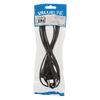 Euro Csatlakozású Kábel Euro Dugasz - IEC-320-C1 2.00 m Fekete