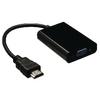 Nagy Sebességű Hdmi Kábel HDMI Csatlakozó - VGA Aljzat 0.20 m Fekete