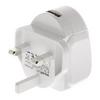 Hálózati Töltő USB 1-Kimenet 2.4 A 2.4 A USB Fehér