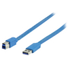 USB3.0 A - B flat cable