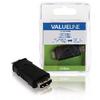Nagy Sebességű HDMI Adapter Ethernettel HDMI Mini Dugasz - HDMI Aljzat Fekete