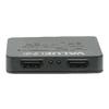 2-Port HDMI Elosztó Fekete