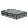 4-Port HDMI Kapcsoló Fekete