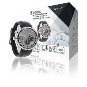 Horloge met Geintegreerde Full HD Camera 16 GB