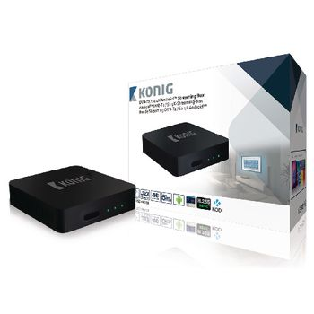 STREAMING BOX 4K 3D 5G WI-FI 4K PARA ANDROID