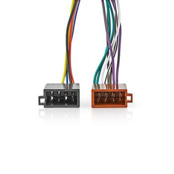 ISO Cable Harness | Nedis®, your smart choice! on kenwood remote control, kenwood wiring-diagram, kenwood power supply, kenwood ddx6019, kenwood instruction manual,