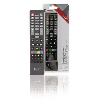 Vellidte Preprogrammed Remote Control 1 LG | Konig FD-89