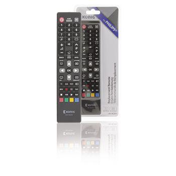 Kendte Preprogrammed Remote Control 1 Philips | Konig PB-04