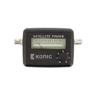 Satellite signal strength meter   konig.