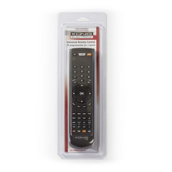 PC Programmable Remote Control 1:1 Universal | Konig